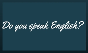 Do you speak english-