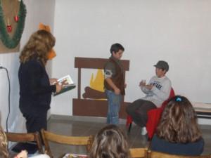 Σκηνή από το θεατρικό της Α1