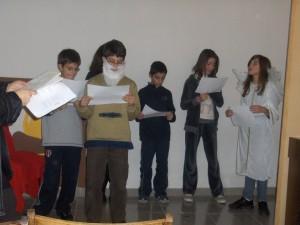 Σκηνή απο το θεατρικό της Elementary